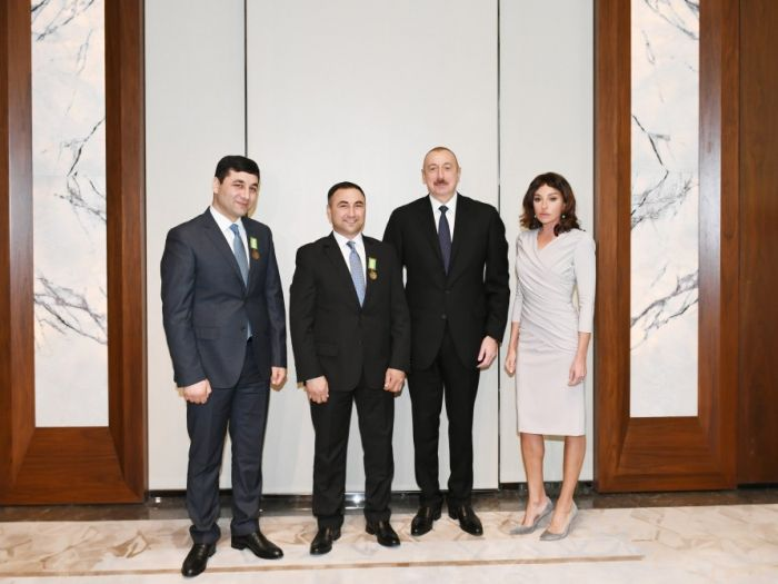 "President Ilham Aliyev awarded Sabir and Umud Shirinov brothers ""For Bravery"" medal"