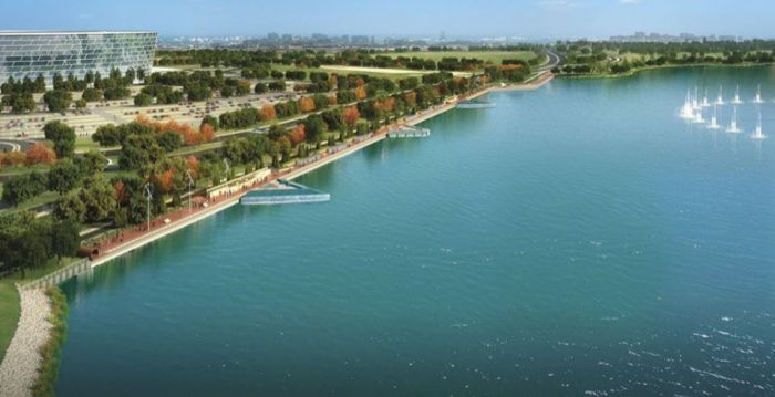 Azerbaijan moves ahead with pilot project for floating solar power system in Lake Boyukshor